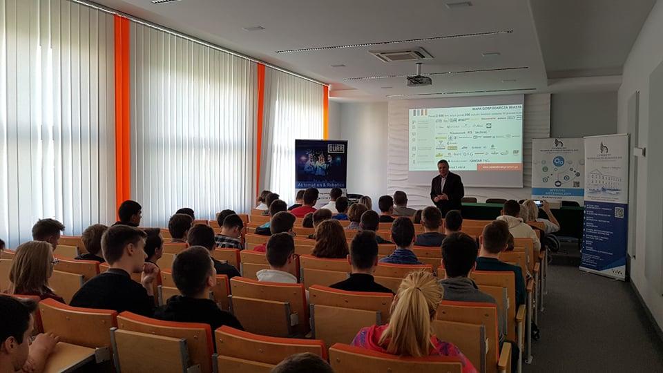 """Podsumowanie wizyt w radomskich szkołach ponadpodstawowych w ramach projektu """"Mój zawód moja przyszłość"""""""
