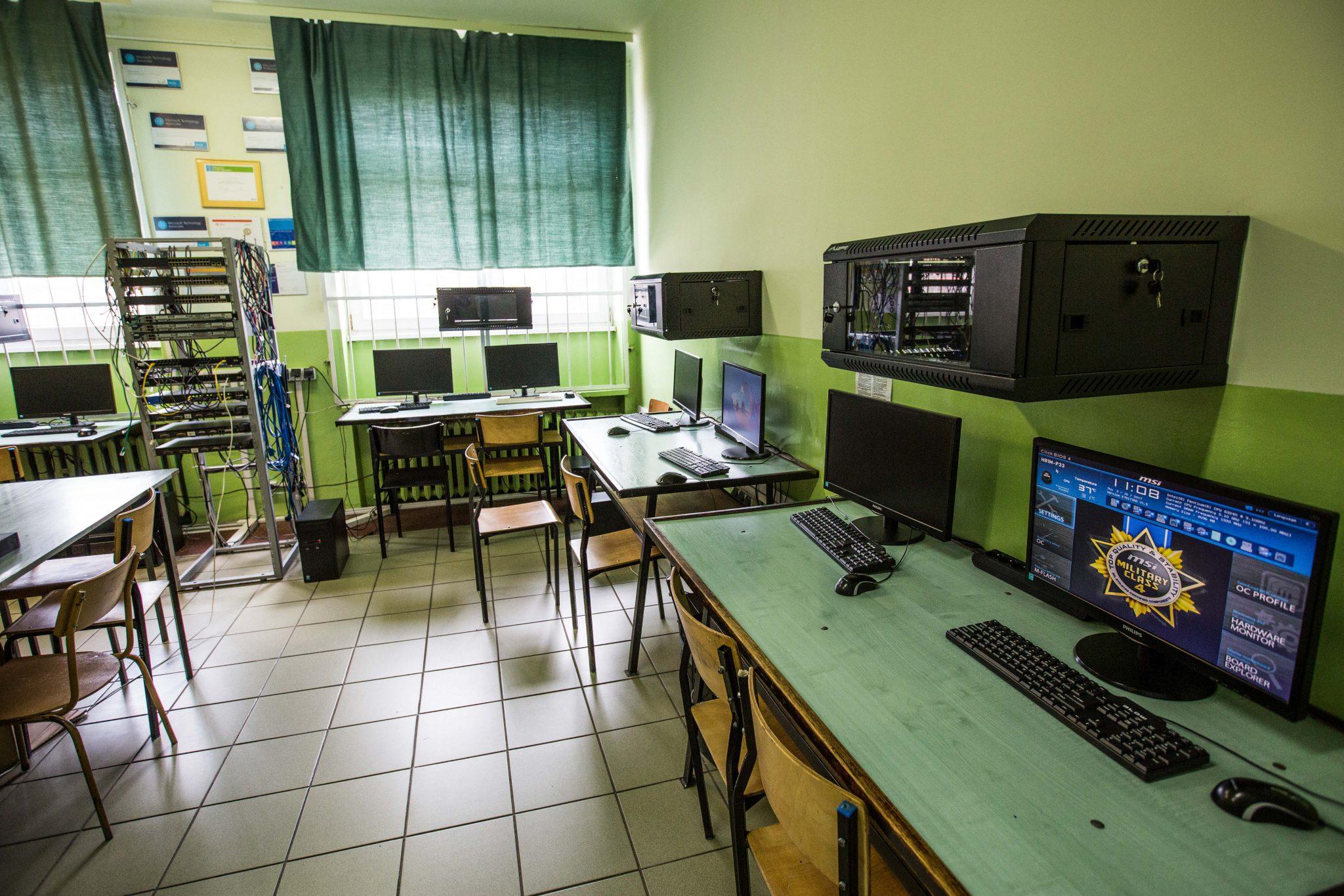 Spotkanie online z uczniami Zespołu Szkół Technicznych